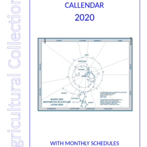Astronomic Agricultural Calendar 2020 - pdf only