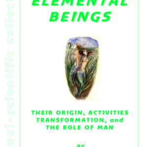 Elemental Beings: Their Origin, Activities And Transformation